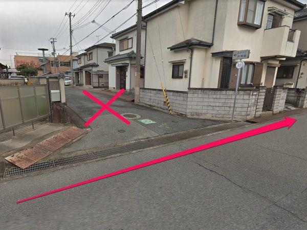 ④車で園の前までの侵入はご遠慮下さい